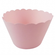 Light Pink Cupcake Wrappers x 50 Per Pack